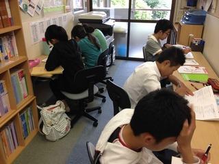 テスト前の日曜日(北野)