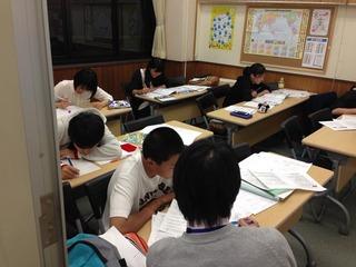 テスト前の日曜日�(北野)