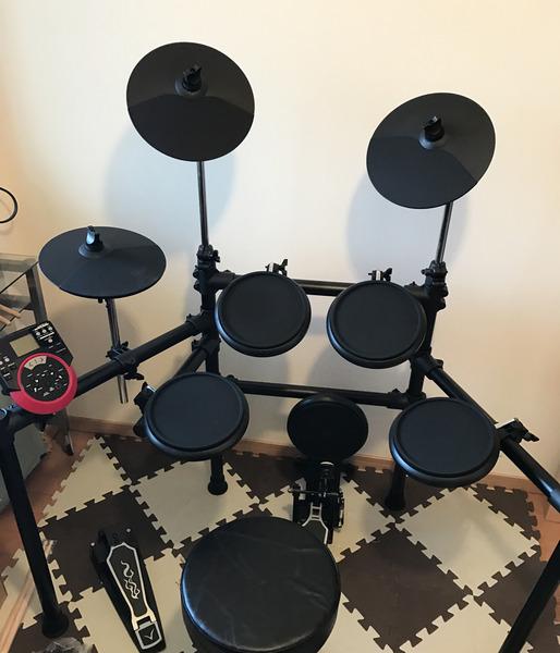ドラムセット完成