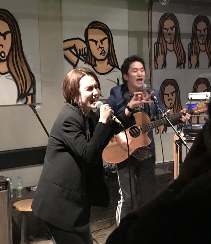 ホネボーンHONEBONEライブ大阪