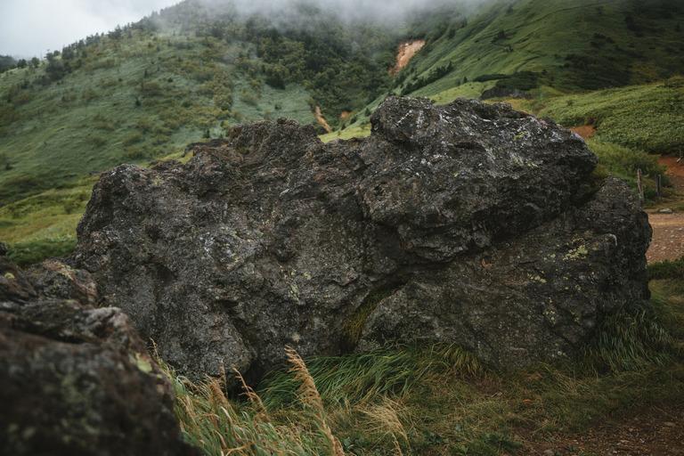 デスバレーの動く岩
