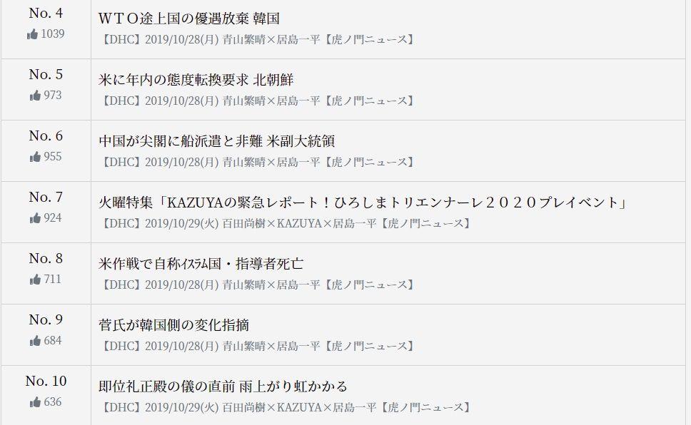 虎ノ門 ニュース 公式 サイト