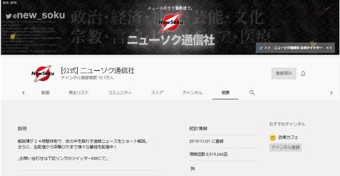 2020.05.06 ニューソク通信社