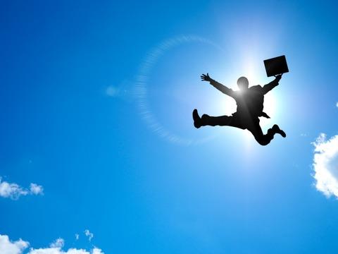021_飛翔するサラリーマン