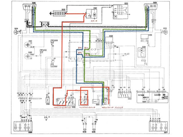 ヘッドランプ配線図.001