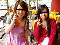 天然むすめ 無料サンプル動画 おんな友達といっしょ ~ルームも男もシェアする娘たち~ 花田静香&三田かなみ