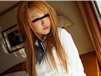 天然むすめ 無料サンプル動画 制服時代 ~制服コスプレ趣味の茶髪ギャル~ 七海伊織