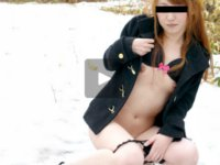 天然むすめ 無料サンプル動画 天然の若妻 ~トータル1リットル!北海道の雪を溶かす雪原潮吹き~ 熊田桃子