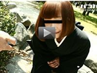 パコパコママ 無料サンプル動画 熟女の火遊び飛びっこ装着 ~喪服美人妻~ 山下由美