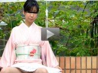 パコパコママ 無料サンプル動画 あの清楚な人妻が着物でプチ露出 小川由香里
