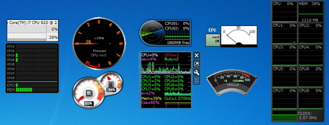今、「生きている」その日に感じた心を綴ろう!:CPUメーター