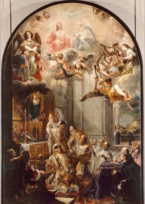 三位一体修道会創設のミサ
