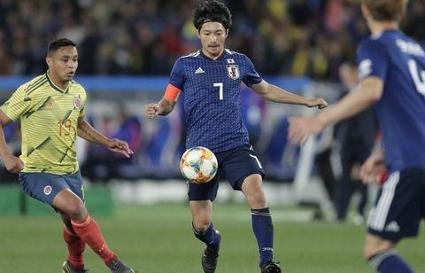 【サッカー日本代表】キリンチャレンジカップ<日本0-1コロンビア>の感想がコチラwww