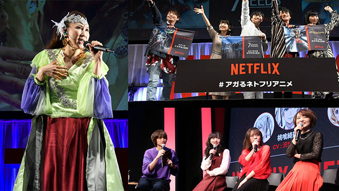 高橋洋子スペシャルライブ & 豪華声優陣のトークに熱狂