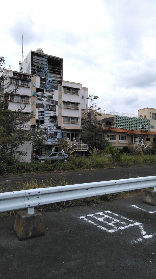 【画像】ホテルの廃墟に行ってきた