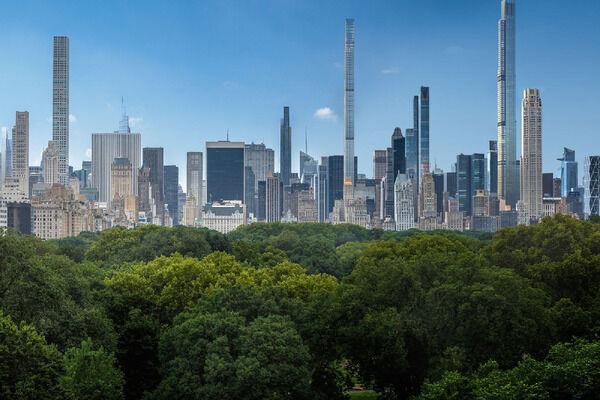 【画像】ニューヨークの建物、なんか細くて不安になるんだが