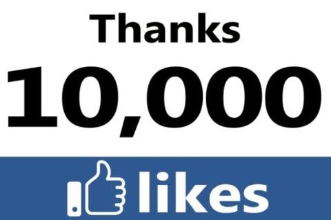 1万いいね-facebook