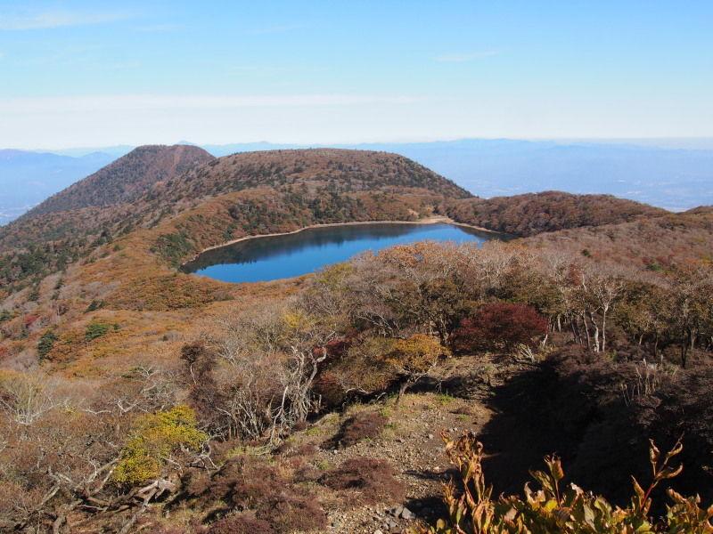 紅葉の大幡前山と大幡池登山 : k...