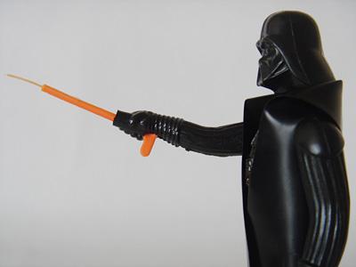 Darth Vader アップ