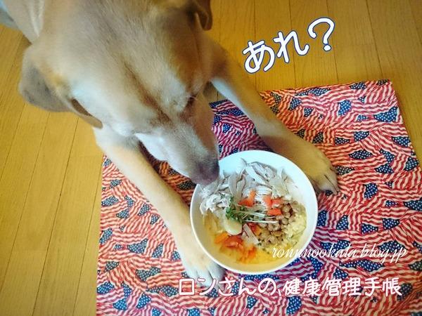20151102 ロンご飯 納豆ご飯 4
