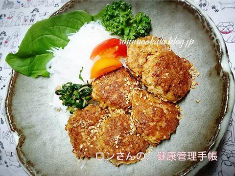 20151119 鰤ムニエル 高野豆腐 ハンバーグ 1