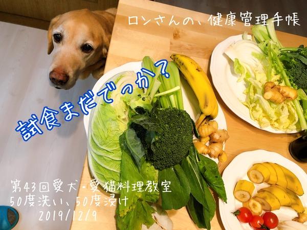 20191209 43回愛犬料理教室 50度洗い (51)