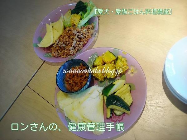 20160711 愛犬・愛猫ごはん料理講座 16回 9