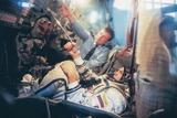 ソユーズのボタン押し棒