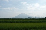 西側から見た大山