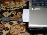 出っ張りがないので、無線LANカードと併用可能