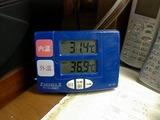 最高気温36度オーバー