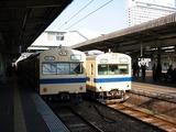 広島駅の風景