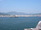 呉の港に戻りました-050729