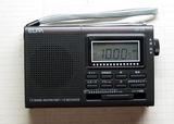 デジタル表示のラジオ