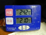 最高最低気温計