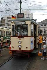 昭和3年製の路面電車