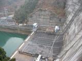 新成羽川ダム-上から