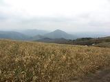 道後山から猫山方向の風景