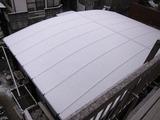 雪が積もってきたカーポートの屋根