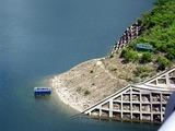 温井ダムの水位