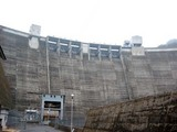 新成羽川ダム-下から