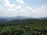 大潰山頂上からの風景