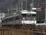 ディマージュ試験撮影・115系電車