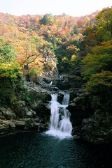 三段滝-フィルムの写真