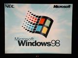 Windows98の起動画面