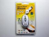 巻き取り型USBケーブルのマウス