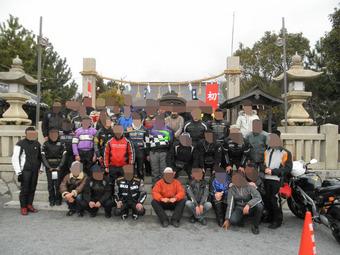 2011年姫路カワサキ初詣ツーリング
