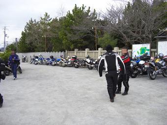 姫路カワサキツーリング・MRF安志稲荷初詣 009