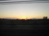 シアトル 夕日