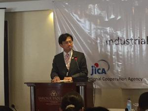 JICA スピーチ